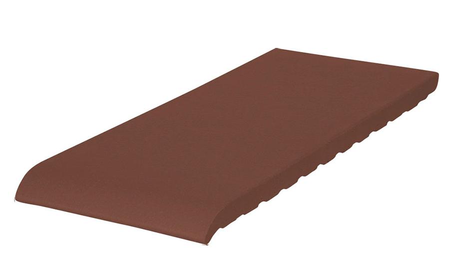 Клинкерный подоконник KING KLINKER коричневый (03), 200*120*15 мм