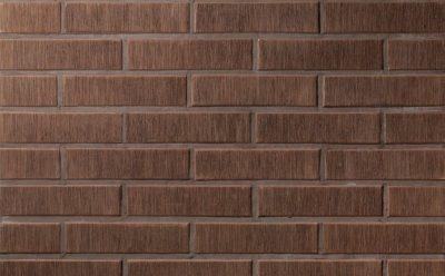 Кирпич керамический пустотелый Lode Asais Brunis шероховатый, 250*85*65 мм