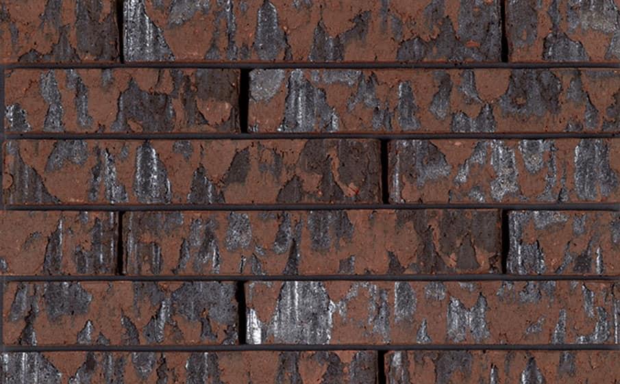 Кирпич облицовочный ручной формовки Terca Marono Bruin Extra E1 (Marono Brown Engobed), 288*88*48 мм
