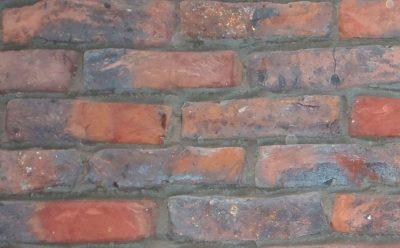 Кирпич облицовочный ручной формовки Terca Ringoven Getrokken Paarsblauw (50mm BUCKINGHAM RED), 208*98*48 мм