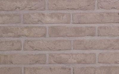 Кирпич облицовочный ручной формовки Terca Agora Agaat Grijs (65mm Forum Smoked Branco), 210*100*65 мм