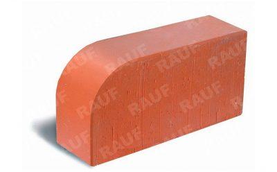 Кирпич радиусный полнотелый ЛСР R-60 красный гладкий 250*120*65 мм