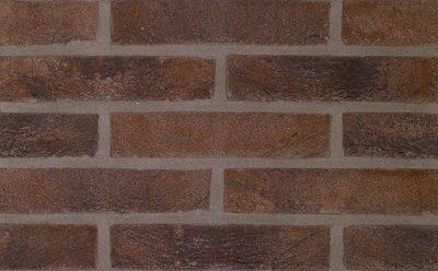 Кирпич облицовочный ручной формовки Terca Bruin-Zwart (Pagus Brown/Black), 215*102*65 мм