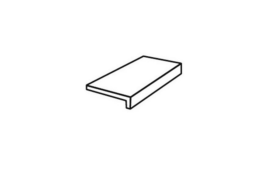 Клинкерная ступень прямой угол Stroeher Epos 957 kawe, 294х175х52х10 мм