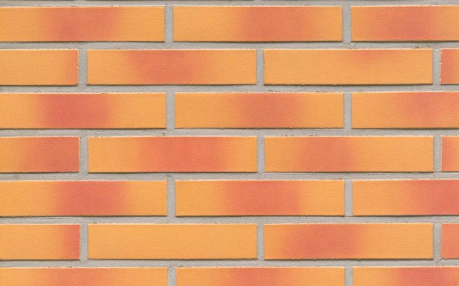 Клинкерная фасадная плитка Feldhaus Klinker R208 amari viva liso, 240*71*9  мм