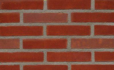 Кирпич облицовочный ручной формовки Terca Koraalrood Gereduceerd (65mm DORRIDGE RED MULTI STOCK), 215*102*65 мм