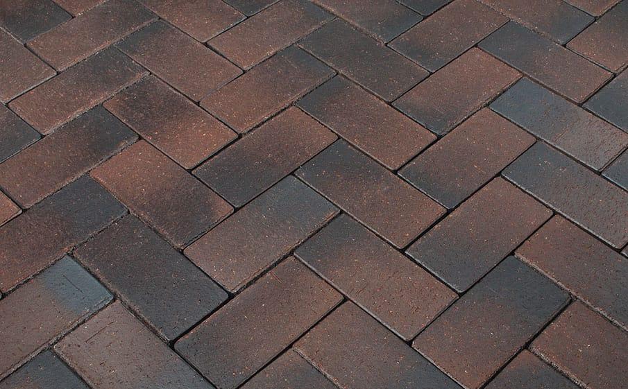 Тротуарная клинкерная брусчатка Penter Emsland, 200x100x45 мм