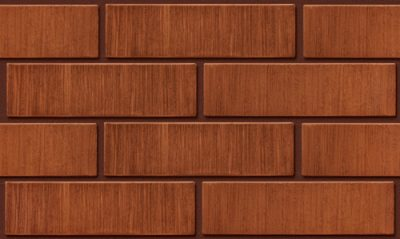 Кирпич лицевой керамический ЛСР пустотелый темно-красный тростник М175 250*120*65 мм