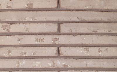 Кирпич облицовочный ручной формовки Terca Polaris (Wasserstrich special grey) (Roman Grey Water Struck), 510*100*40 мм