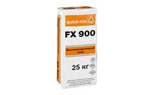 Высокоэластичный плиточный клей quick-mix FX 900, 25 кг