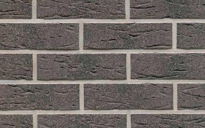 Клинкерная фасадная плитка Feldhaus Klinker R735 anthracit mana, 240*71*9 мм