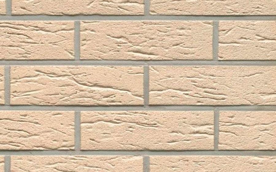 Клинкерная фасадная плитка Feldhaus Klinker R116 perla mana, 240*71*9  мм