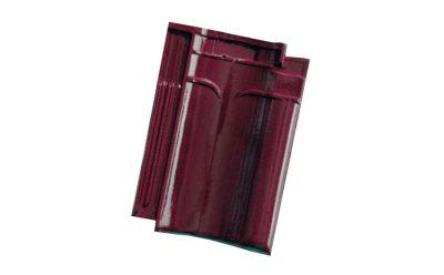 Керамическая черепица рядовая Koramic VHV Wine Red Glazed