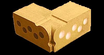 Угловой фасонный  элемент КАПЛЯ внутренний