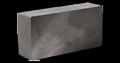 Кирпич стандартный полнотелый гладкий серый