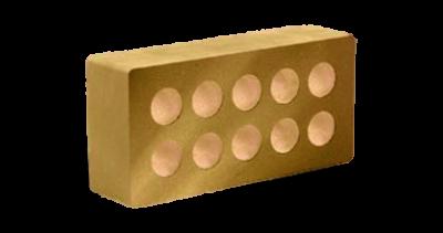 Кирпич стандартный гладкий пустотелый  сл.кость
