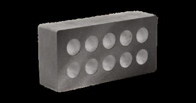 Кирпич стандартный гладкий пустотелый серый