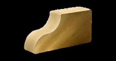 Кирпич фасонный КАРНИЗНЫЙ красный/серый/желтый/сл.кость/шоколад/бордо/терракот