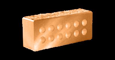 Кирпич стандартный колотый с.ф. пустотелый  терракот
