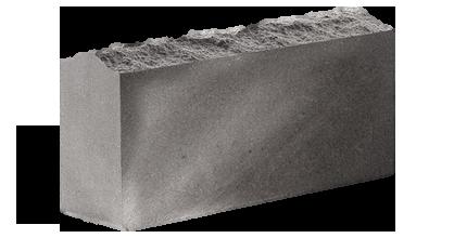 Кирпич стандартный полнотелый  Скала  серый