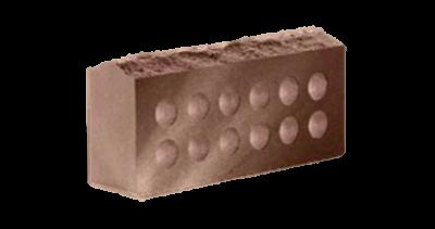 Кирпич стандартный  пустотелый  Скала шоколад, бордо