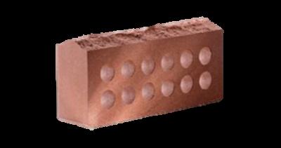 Кирпич стандартный  пустотелый Скала  красный