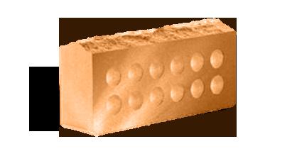 Кирпич стандартный пустотелый  Скала терракот