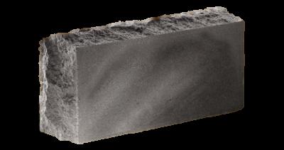 Кирпич стандартный полнотелый гладкий Скала тычковый  серый