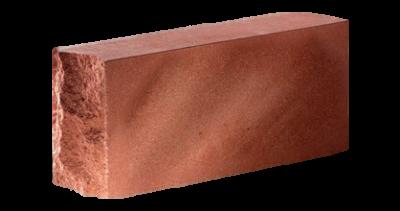 Кирпич стандартный полнотелый тычковый   красный