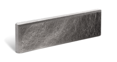 Кирпич тонкий колотый серый с.ф.