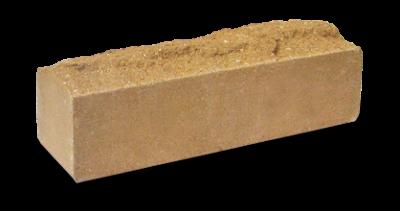 Кирпич узкий колотый Скала желтый