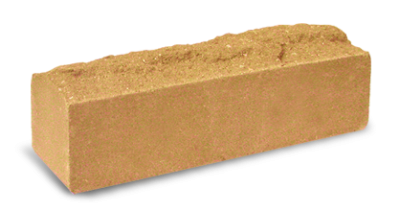 Кирпич узкий колотый Скала сл.кость